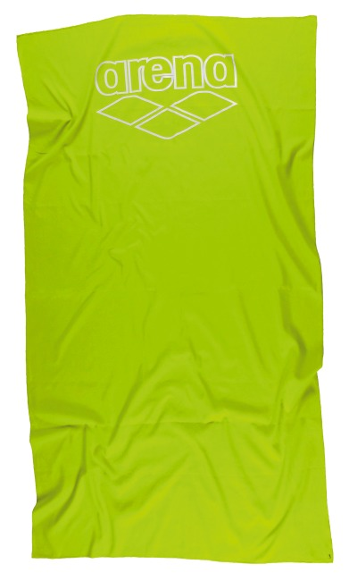 """Arena® Badetuch """"Halys"""" Lime/White"""