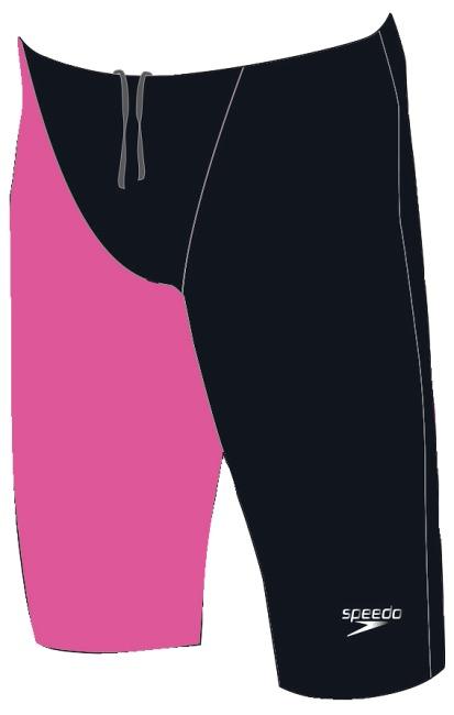 """Speedo® Jammer Fastskin """"LZR Elite 2"""" Schwarz/Pink"""