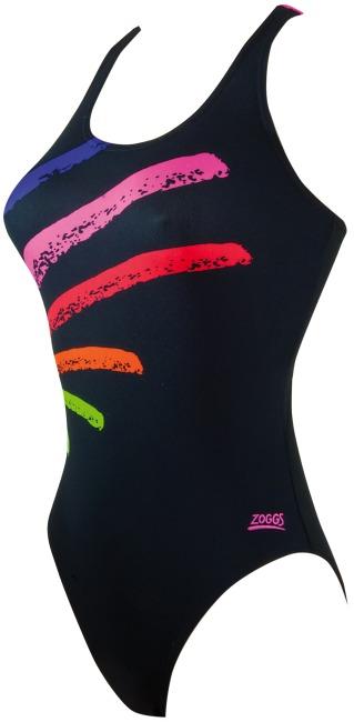 "Zoggs® Schwimmanzug ""Fitzroy"" Black-Multi"