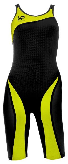 "Aqua Sphere® MP™ Competition Suit ""XPRESSO"" Black/Bright Yellow"