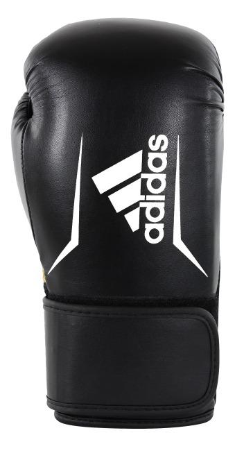 """Adidas Boxhandschuhe  """"Speed 100"""" Schwarz-Weiß, 8 oz."""