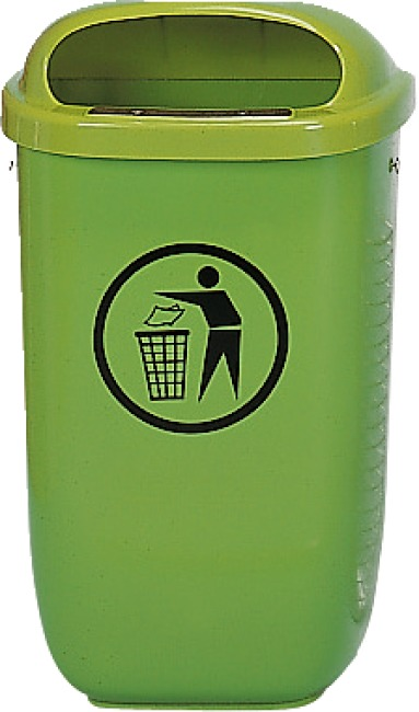 Affaldskurv efter DIN Standard, Grøn