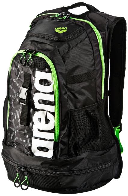"""Arena® Schwimmer-Rucksack """"Fastpack 2.1"""" Black-X-Pivot-Fluo green"""