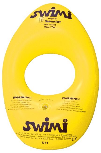 """Babyschwimmhilfe """"Swimi"""" Größe 0, Kinder bis 12 Monate, ø 15 cm"""