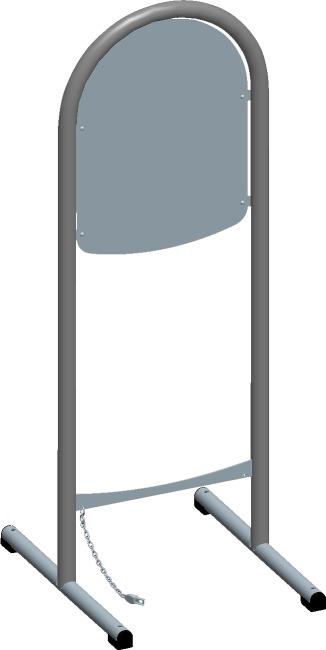 """Bäderliegen-Set """"Marina"""" inkl. Pfandsystem Mit Depotstation und Anfangskette"""