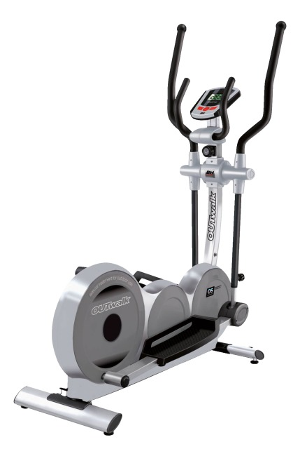 BH Fitness® Outdoor Crosstrainer OUTwalk 2. Wahl