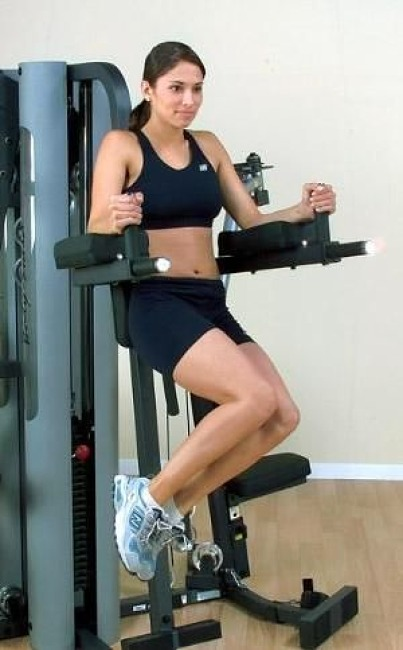 "Body-Solid Beinhebe- und Dips-Anbaustation ""GKR-9"""
