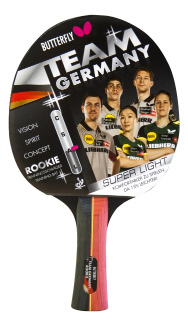 "Butterfly Tischtennisschläger ""Team Germany Rookie"""