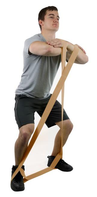 "CanDo® Multi-Grip™ Fitnessband ""Exerciser Rolle"" Hellbraun, extra leicht"
