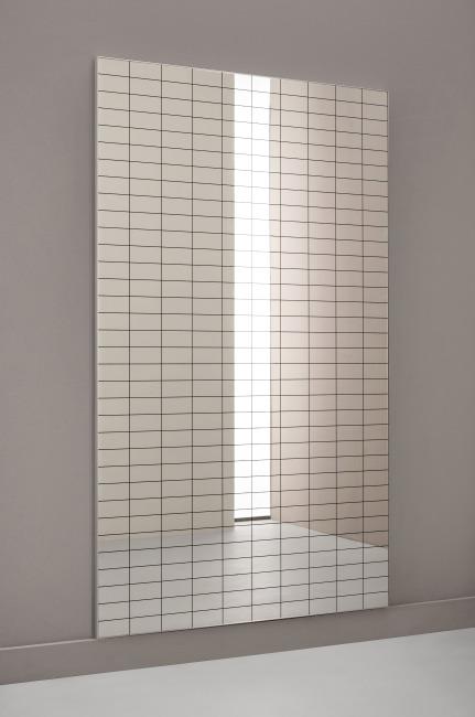 Dinamica Korrektur-Wandspiegel mit Raster 120x80 cm