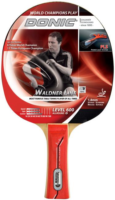 """Donic® Schildkröt Tischtennisschläger """"Waldner 600"""""""