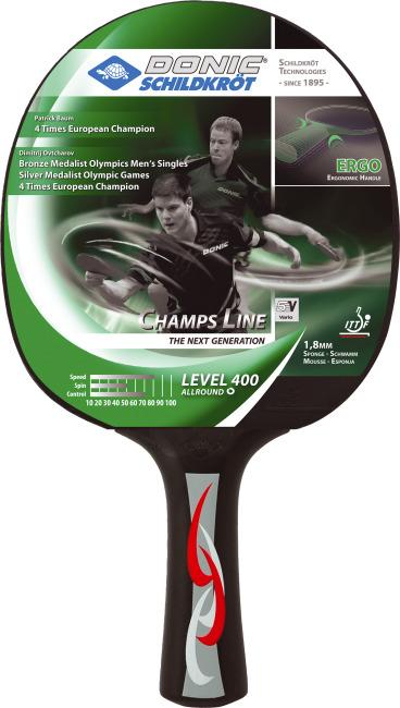 """Donic® Schildkröt Tischtennisschläger """"Young Champs 400"""""""