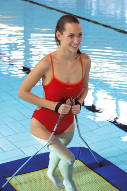 Eurotramp® Unterwassertrampolin