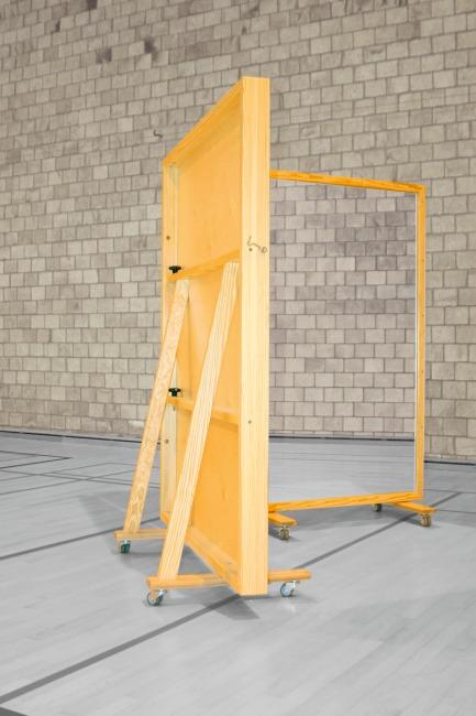 Fahrbare Spiegelwand 400x180 Cm Kaufen Sport Thieme