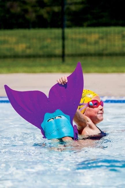 Finis® Monoflosse Meerjungfrauen für Kinder Paradise Purple