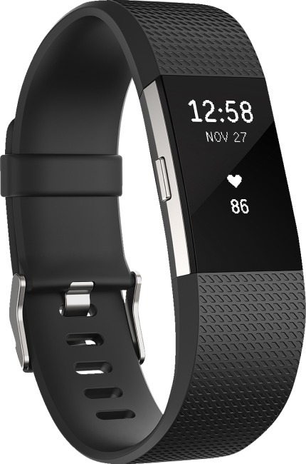 Fitbit® Charge 2 Schwarz, S