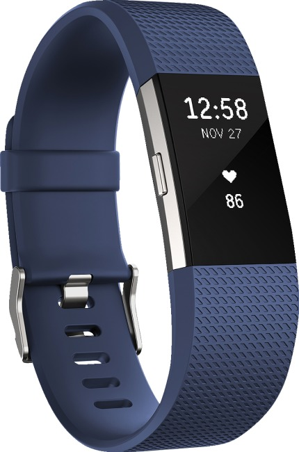 Fitbit® Charge 2 Blau, Gr. S