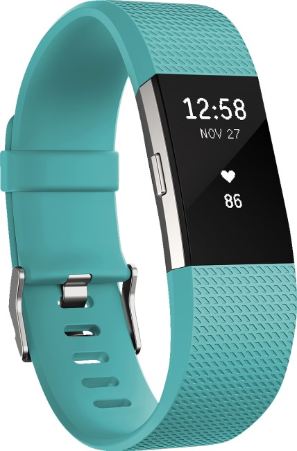 Fitbit® Charge 2 Türkis, Gr. S