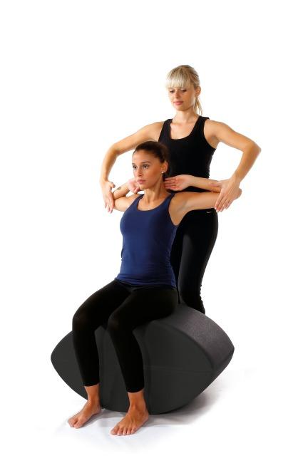 Fitness-Schnecke Schwarz