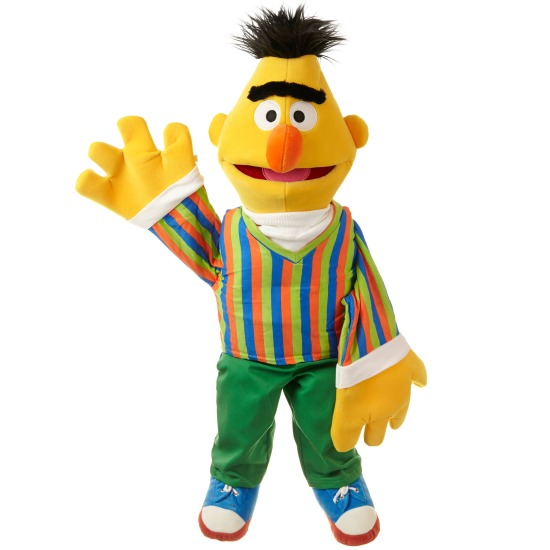 Handpuppen aus der Sesamstraße Bert