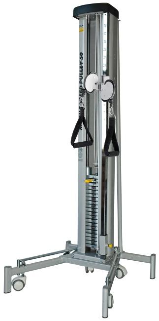 Lojer® dobbelttræk/eksplosionsredskab, transportabel 50 kg