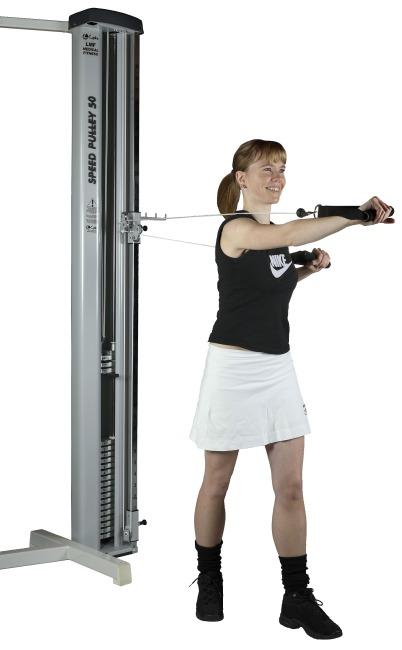Lojer maskine til dobbelttræk 50 kg