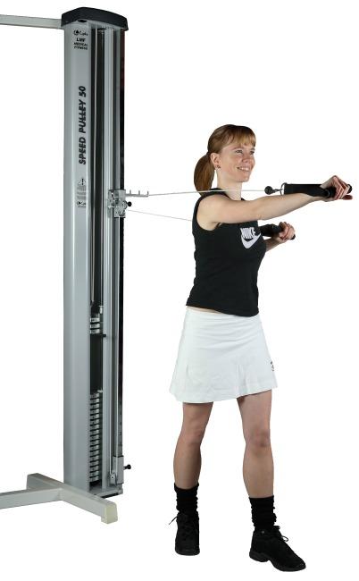 Lojer maskine til dobbelttræk 100 kg