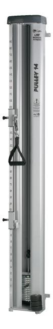 Lojer® maskine til trækøvelser 14 kg
