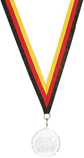Medaillen-Band Schwarz-Rot-Gold