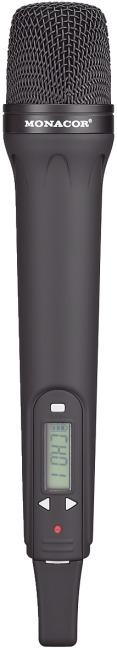 Monacor® Handsendemikrofon