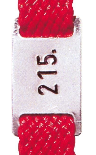 One-off extra charge for orders of less than 100 aluminium number plates.