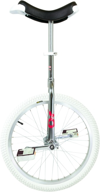 "OnlyOne® ""Indoor"" Unicycle 20-inch tyre (ø 51 cm), chrome frame"