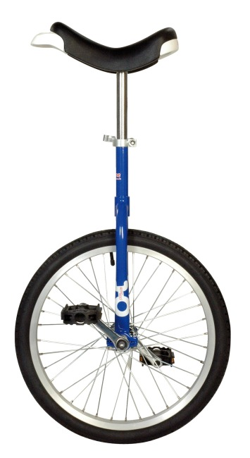 """OnlyOnle """"Outdoor"""" Unicycle 20-inch, 36 spokes, blue"""