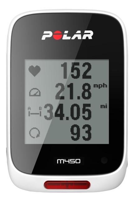 Polar® Fahrradcomputer M450 Mit HR