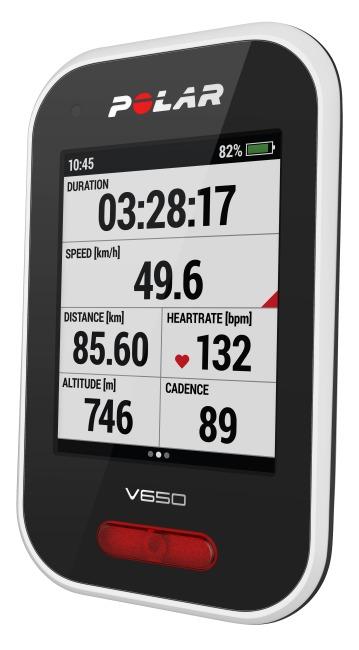 Polar® Fahrradcomputer V650 Mit HR
