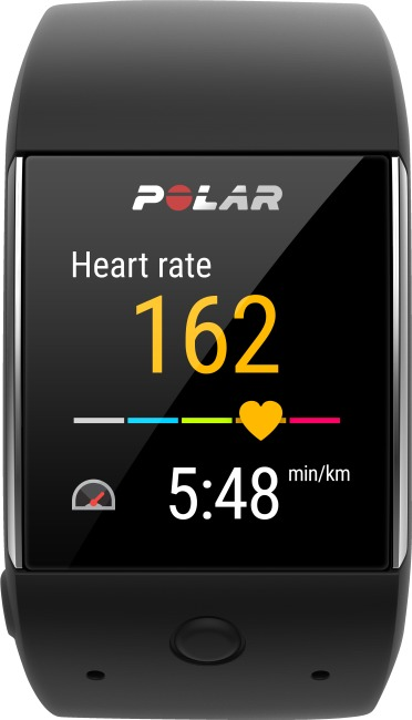 "Polar® GPS Smartwatch ""M600"" Black"