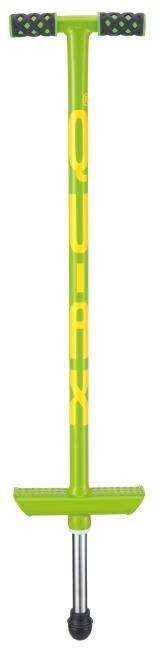 Qu-Ax Hüpfstab Pogo-Stick Neongrün, L: 86 cm, bis 20 kg