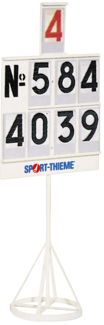 Score display board with ring base