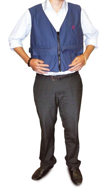 Southpaw® Gewichtsweste XL, Brustumfang: 90-106 cm