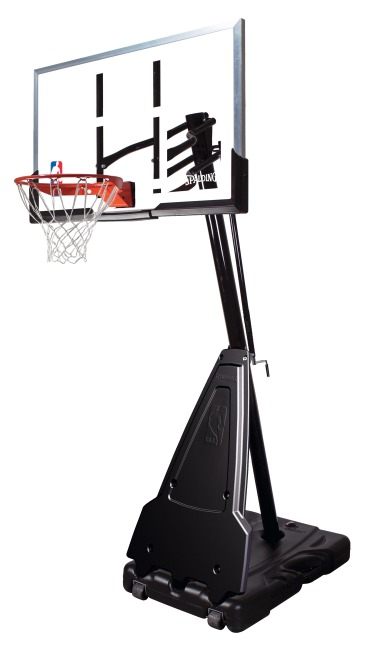 "Spalding Basketballanlage  ""NBA Platinum Helix Lift Portable"""