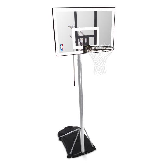 """Spalding Basketballanlage """"NBA Silver Portable"""""""