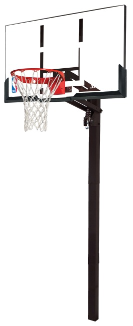 "Spalding® ""NBA Gold Exacta High Lift In-Ground"" Basketball Unit"
