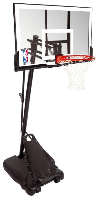 "Spalding® ""NBA Gold Exacta High Lift Portable"" Basketball Unit"