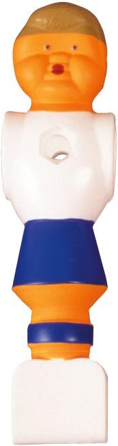 Spillefigur til Bordfodbold hvid-blå