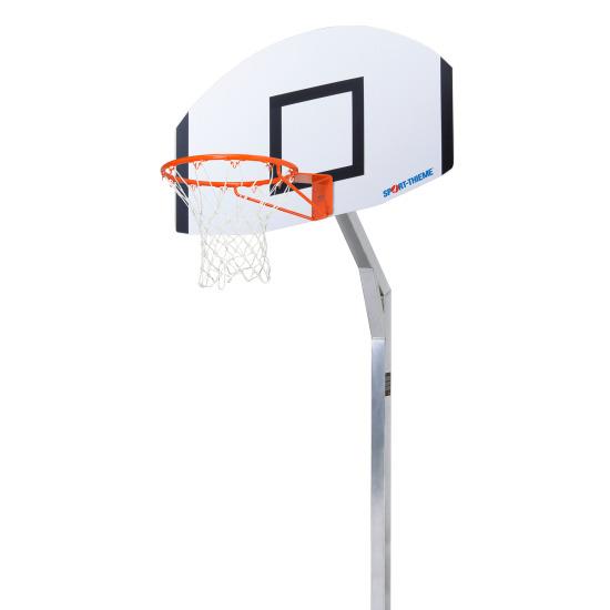 """Sport-Thieme® Basketball-anlæg """"Jump"""" Med 65 cm udhæng"""