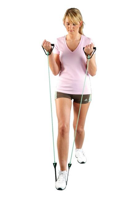 Sport-Thieme Fitness-Tube Step Grün = leicht