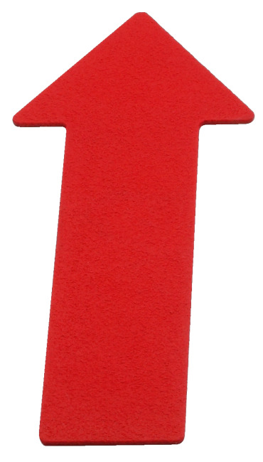 Sport-Thieme Floor Marker Arrow, 35 cm, Red