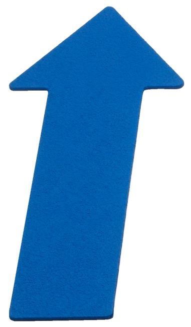 Sport-Thieme Gulvmarkering Pil, 35 cm, Blå