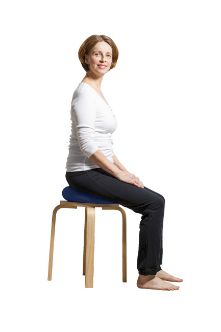 "Sport-Thieme® ""Gymfit"" Balance Cushion Blue, ø 33 cm"