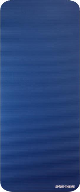 """Sport-Thieme® Gymnastikmatte """"Gym 15"""" 190 x 80 x 1,5 cm, Blau mit Ösen/ 2. Wahl"""